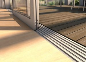 flooring transition from inside to outside