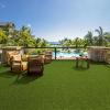 castor artificial grass