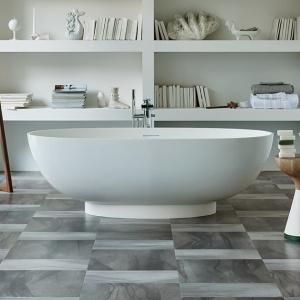 luxury vinyl floors in bathroom design