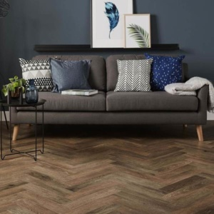 trend for herringbone flooring