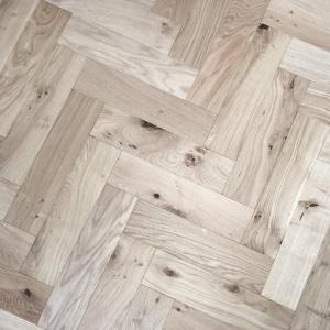 v4 zigzag herringbone unfinsihed oak