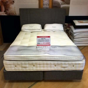 harrison milan bed and mattress