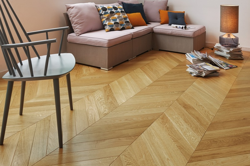 panaget french oak classic satin chevron