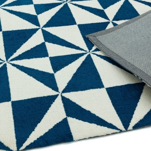 Asiatic arlo mosaic denim rug