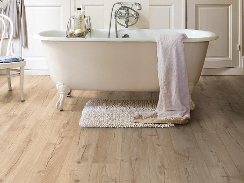 quickstep bathroom classic oak beige